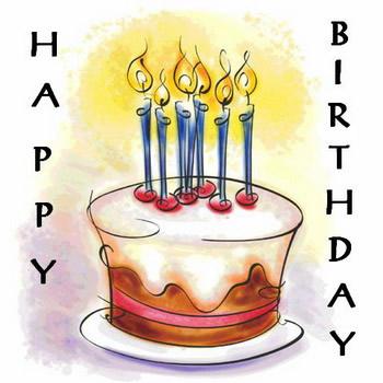 عکس های متحرک برای تبریک تولد شمع روشن برای تولد